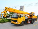 Dongfeng Chassis Stick Boom China Tire Truck Crane for Sale