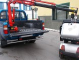 Small Hydraulic Electric Pickup Truck Crane for Sale