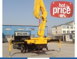 Hydraulic Truck with Crane 10 Ton for Sale