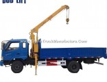 Construction Telescping Mobile Small Truck Crane for Sale