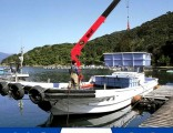 Marine Used Hydraulic Lift Crane for Pickup Truck