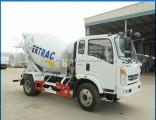 Sinotruk Homan 6 Wheeler Small 5m3 Cement Mixer Truck