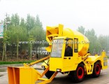 1cbd Self Propelled Mobile Concrete Mixing Truck Plant