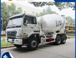 Sinotruk HOWO 6X4 9 Cubic Meters Concrete Mixer Truck