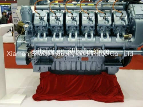 Hnd/Mwm Marine Diesel Inboard Engine Tbd234-V8 for Boat/Ship
