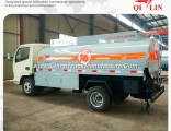 Dongfeng Chassis 6 Wheels 4X2 5500 Liters Refuel Tank Truck