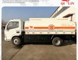 Dongfeng 4X2 5.25cbm Gasoline Refuel Tank Truck for Sale