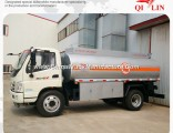 Foton 4X2 Right Hand Drive 8cbm Refuel Oil Tank Truck