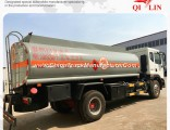 Stainless Steel 8t Payload Oil Fuel Delivery Tank Truck