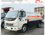 China 4X2 5m3 Fuel Delivery Tank Truck for Kenya