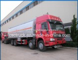 Heavy Duty Sino Truck HOWO 8X4 30000L Oil Tank Truck 35000L Fuel Tank Truck for Sale