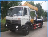 Euro3 Foton DFAC 4X2 3-8tons Flatbed Tow Truck Hydraulic Towing Truck