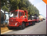 China 6*4 Low Flatbed Truck for Transportation