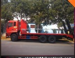 Flatbed Truck Towing Truck Vehicle for Machinery Delivery