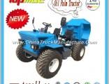 China Topall Palm Oil Dumper Truck for Sale Dump Truck Used in Palm Oil Fram