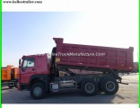 Right Hand Driving Black Color Diesel 371HP Tipper Dump Truck