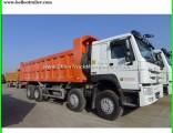 Sinotruk HOWO 8X4 Hw76cab Commercial Dump Trucks Tipper Truck