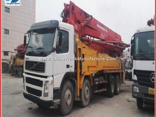42m Used Putzmeister Concrete Pump Truck for sale_Cheap