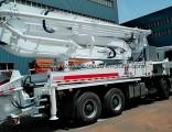 New 38m White Coloured Small Concrete Pump Truck for Sale