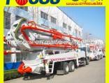 24m, 28m, 32m, 37m, 42m, 48m, 52m Mobile Beton Pump Truck