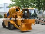 1.5m3 4X4 Self Loading Mobile Diesel Concrete Mixer Truck