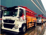 New High Quality 25m-48m Boom Concrete Pump Truck with Ce&ISO9001