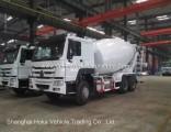 Best Selling- HOWO 8 Cubic Meter 10 Wheels Concrete Mixer Truck