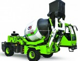 1.8 Cube Meter Construction Equipment Mobile Self Loading Concrete Mixer with Pump