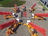 35m Truck Mounted Concrete Boom Pump