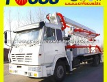 24m Cement Concrete Pump Truck, Truck-Mounted Concrete Boom Pump