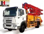 Diesel Truck-Mounted Concrete Pump 21m 25m 28m 32m 34m 38m 48m