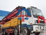 2012 Sany Isuzu 46m Renovate Used Truck Mounted Concrete Pump