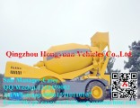 3.5m3 Cheap Price Self-Loading Automatic Hydraulic Pump Mobile Concrete Mixer Suppliers