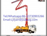 Factory Price 38m Jiuhe Truck Mounted Concrete Pump for Sale in Saudi Arabia