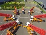 Hot! Truck Mounted Concrete Pump 42m Reliable Quality Portable Concrete Mixer and Pump