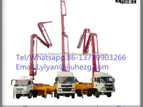 Factory Price 33m Jiuhe Truck Mounted Concrete Pump for Sale