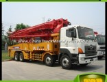 37m Construction Machine Mobile Concrete Pump Hb37A
