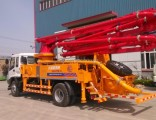 Remote Control Jh 25m 27m 29m 30m 34m 38m Small /Medium Truck Mounted Boom Concrete Pump Prices