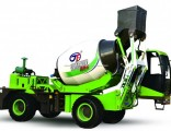 2.6 Cube Meter Construction Equipment Mobile Self Loading Concrete Mixer with Pump
