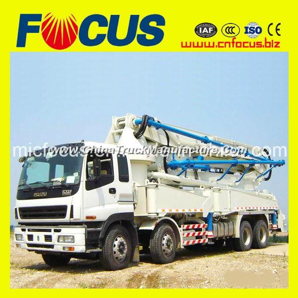 24m, 28m, 32m, 39m, 42m, 45m, 48m, 52m Boom Mobile Concrete Pump on Truck