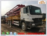 Used Mercedes-Benz 37m Concrete Pump Truck, Septic Pump Truck, Benz Chassis, Sany Pump