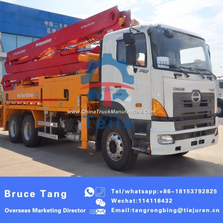 2008 Putzmeister 36meters Used Concrete Pump Truck for Sale for