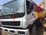 Used Sany 37m Truck Mounted Conrete Pump Isuzu Chassis