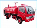 China Small 4X2 5000liters Water Tank Fire Truck 5tons Fire Water Sprinkler Truck