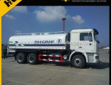 6X4 Shacman Stainless Steel Water Tank Truck 20cbm