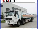 HOWO 8X4 Heavy Water Tanker Truck 30cbm Tanker Truck