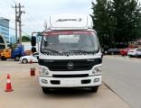 Professional 5m3 Water Tank Truck / Water Tanker Lorry Foton