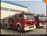Heavy Duty HOWO Right Hand Drive Fire Truck Emergency Rescue Truck
