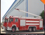6*4 High Jet Fire Truck Water Foam Fire Fighting Truck for Sale