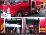 Isuzu 5ton Water Fire Fighting Engine Truck